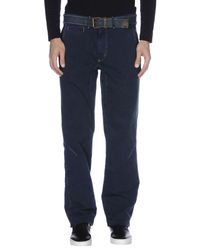 Jaggy Blue Casual Trouser for men