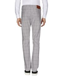 Siviglia Gray Casual Pants for men