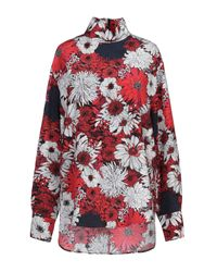 Cedric Charlier Red Blouse