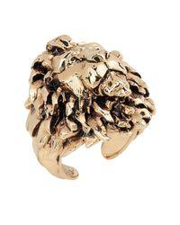 Roberto Cavalli Ring in Metallic für Herren