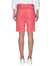 Brian Dales - Pink Bermuda Shorts for Men - Lyst