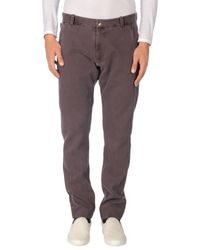 Armani | Black Casual Trouser for Men | Lyst