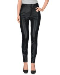 Mother Black Casual Trouser