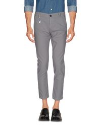 Yan Simmon - Gray Casual Pants for Men - Lyst