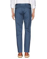 Patrizia Pepe - Blue Casual Pants for Men - Lyst