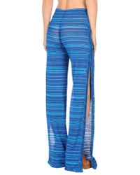 Missoni Blue Beach Shorts And Trousers