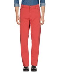 Harmont & Blaine Red Casual Pants for men