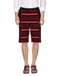 Alexander Wang - Red Bermuda for Men - Lyst