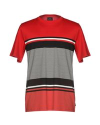 PS by Paul Smith Red T-shirt for men