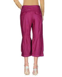 Armani Jeans Pink 3/4-length Trousers