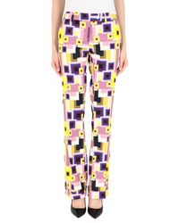 Pantalone di Les Copains in Pink