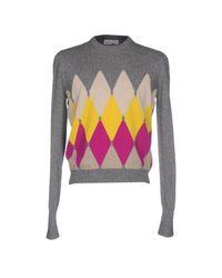 Ballantyne Gray Sweater for men