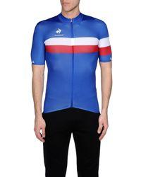 Le Coq Sportif Blue T-shirt for men