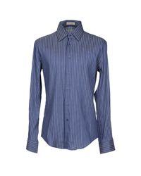 Fabio Di Nicola - Blue Shirt for Men - Lyst