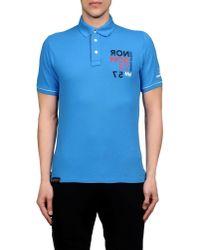 Helly Hansen Blue Polo Shirt for men