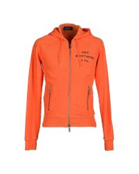 DSquared² - Orange Sweatshirt for Men - Lyst