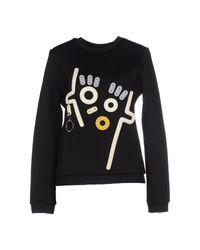 KENZO - Black Sweatshirt - Lyst