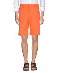 Jil Sander Bermudashorts in Orange für Herren