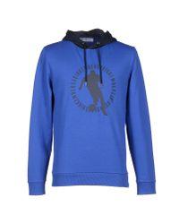Bikkembergs - Blue Sweatshirt - Lyst