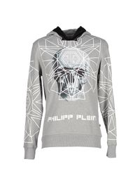 Philipp Plein - Gray Sweatshirt for Men - Lyst
