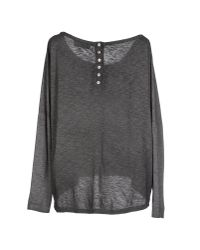 Athletic Vintage - Gray T-shirt - Lyst