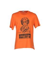 Tsptr Orange T-shirt for men