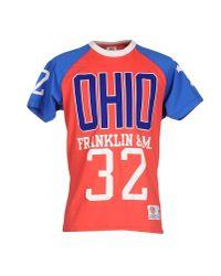 Franklin & Marshall Red T-shirt for men
