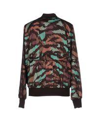 Jeremy Scott for adidas Brown Sweatshirt