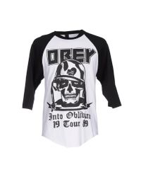 Obey - White T-shirt for Men - Lyst