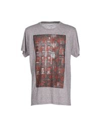 Obey - Gray T-shirt for Men - Lyst