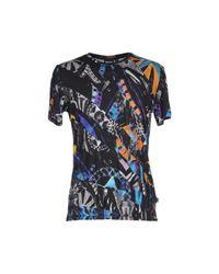 Just Cavalli - Black T-shirt - Lyst