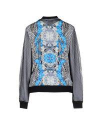 Silvian Heach Blue Sweatshirt