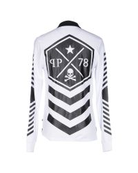 Philipp Plein - White Polo Shirt for Men - Lyst
