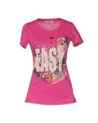 Liu Jo | Pink T-shirt | Lyst