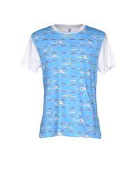 Moschino - Blue T-shirt for Men - Lyst