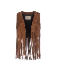 Vintage De Luxe | Brown Top | Lyst