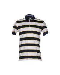Les Copains | White Polo Shirt for Men | Lyst