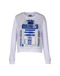 ELEVEN PARIS White Sweatshirt