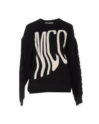 McQ Alexander McQueen Black Sweatshirt