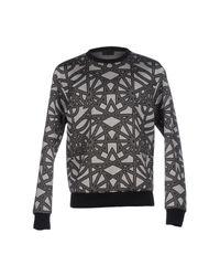 Les Hommes   Gray Sweatshirt for Men   Lyst