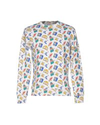 Au Jour Le Jour | White Sweatshirt for Men | Lyst