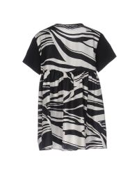 Moncler - Black T-shirt - Lyst