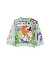 Boutique Moschino | Blue Sweatshirt | Lyst