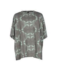 Paura | Gray T-shirt for Men | Lyst