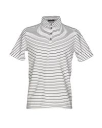 Roberto Collina - Black Polo Shirt for Men - Lyst