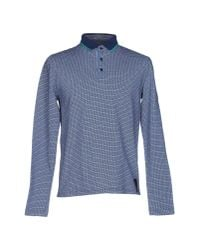 Fendi | Blue Polo Shirt for Men | Lyst