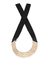 Carla G - White Necklace - Lyst