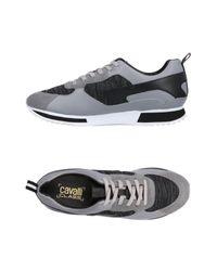 Class Roberto Cavalli Low Sneakers & Tennisschuhe in Gray für Herren