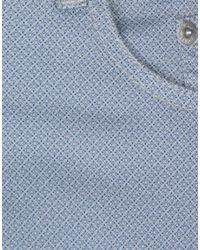Siviglia Blue Casual Trouser for men