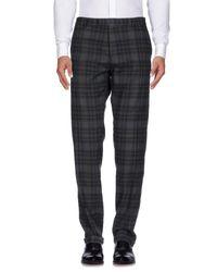 BOSS Gray Casual Trouser for men
